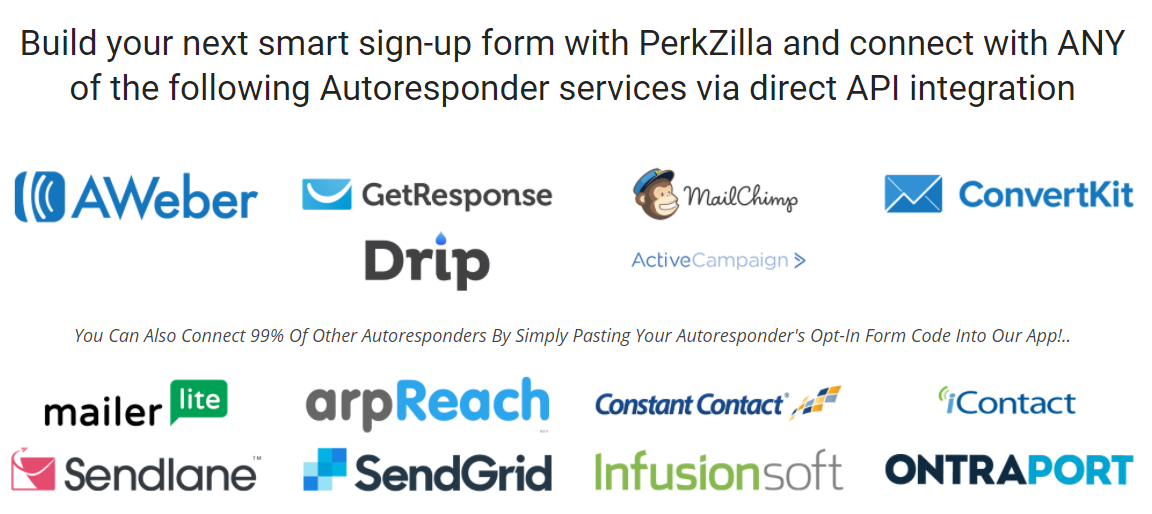 perkzilla integration