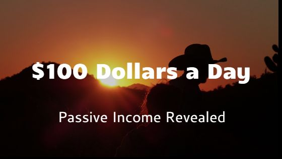 make 100 dollars a day passive income photo