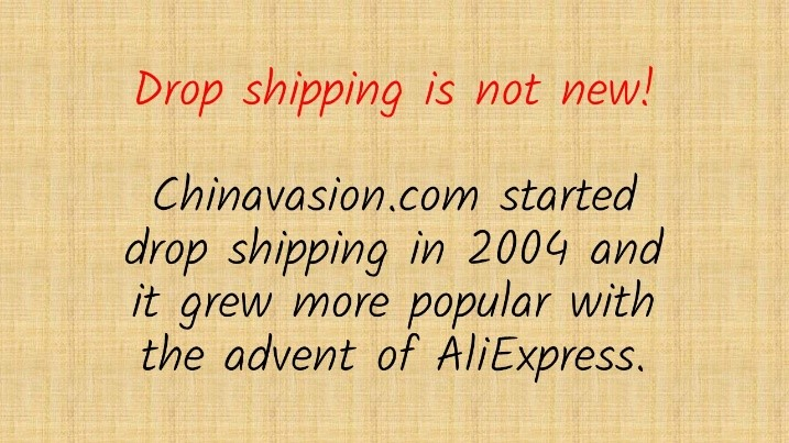 dropshipping is not new