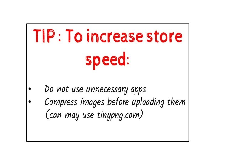 to increase store speed