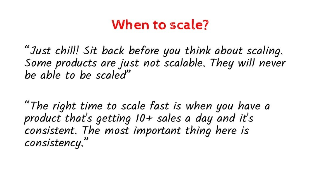 when to scale